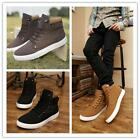Fashion Mens Tennis Shoes Casual Canvas Lace Up Sport Shoes Sneakers Boots SS
