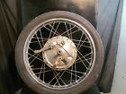 HONDA CB350 350 [1971] FRONT WHEEL with AXLE DUAL TWIN LEADING SHOE CAFE BOBBER