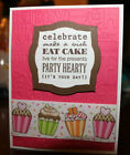 HANDMADE BIRTHDAY GREETING CARD KIT w ENVELOPES featuring Stampin Up