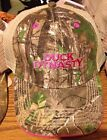 E Duck Dynasty - Stitched Logo - Baseball Hat Cap RealTree Max-4 Camo