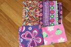 FLANNEL AND FLEECE FABRIC LOT
