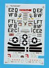 D Mustang Aces, Partial Decal Sheet, 1/48