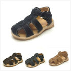 Brand New Infant Toddler Boys Fisherman Close Toe Sandals Size 2 7