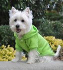 SM DOG HOODIE chihuahua yorkie toy poodle GREEN DOG SWEATSHIRT clothes SHIPS USA