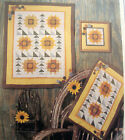 Sunflower quilt Pattern wall hangings Four Corners 9330
