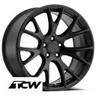 20x9 inch Dodge Challenger SRT Hellcat OE Factory Satin Black Wheel Rims 5x115