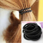 10pcs Super Thin Elastic Girl Rubber Telephone Wire Style Hair Ties