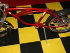 Schwinn Stingray 5 Speed Frame Only Original Flamboyant Red Paint Krate