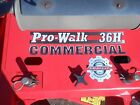 gravely 36 inch commercial hydro walk behind mower 645hrs scag exmark ferris