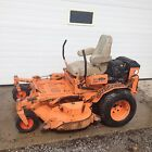 SCAG TURF TIGER COMMERCIAL ZERO TURN MOWER 61 DECK NICE