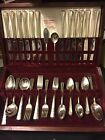 Edwards Silverplate Service for 12 )May Queen 1951 Inlaid 76 pc