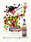 ADVERT DRINK ALCOHOL VERMOUTH APERITIF HARLEQUIN DRY FRENCH POSTER CC6192