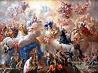 PAINTING SURREAL DE MATTEIS TRIUMPH OF THE IMMACULATE ART PRINT POSTER BB8763