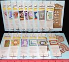 Spellbinders Die D Lites Cut Emboss Stencil Assorted Designs Patterns Templates