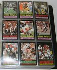 1985 TOPPS COMPLETE 396 FOOTBALL CARD SET IN BINDER (IN EXCELLENT CONDITION!!)