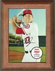 MIKE TROUT 2016 Topps Heritage Box Loader Poster - includes frame - LA Angels