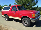 Ford: Bronco Eddie Bauer 1989 below $2100 dollars