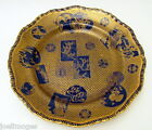 Antique HP Mason's Patent Ironstone England Aesthetic Charger Plate 1870s