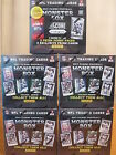 2013 Panini Monster Football (7 Pack Box) * 3 BONUS PRIZM CARDS * 5 Box Lot