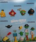 McDONALD'S 2016 - THE ANGRY BIRDS MOVIE - COMPLETE SET OF 10 - SHIPS PRIORITY