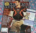 Buster Posey San Francisco Giants Signed auto Sports llustrated w PROOF JSA