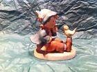 Vintage Hummel Singing Lessons Figurine Boy with Bird