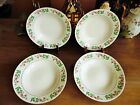 4 GIBSON EVERYDAY CHRISTMAS CHARM HOLLY BERRIES DESIGN SOUP BOWLS 8