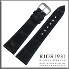 18x14 RIOS1931 for Panatime - Oc Blue Lausanne - Alligator Watch Band For Patek