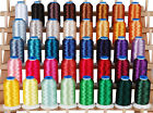 MACHINE EMBROIDERY THREAD SET A BIG 1000M POLYESTER CONES 40 COLORS 40WT