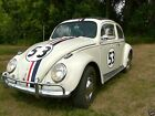 Volkswagen Beetle Classic Herbie style paint and decals 64 beetle with herbie style paint and decals