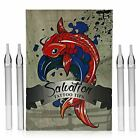 Salvation Disposable Tattoo Tubes - Tinted Tips - Choose Round, Flat, or Diamond