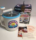 Donvier 2 Pint Hand Crank Chillfast Ice Blue Rim Cream Maker No Ice Salt In Box