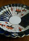 Gold Lipper Mann Creations Blue Imari dish Japan old porcelain hand painted