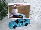 RACING CHAMPIONS DAVE MARCIS DIE CAST CAR #71 & OFFICIAL CARD SIGNED 1991