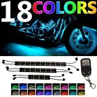 6pc MillionColor LED Glow Neon Accent Light Strip Kit For 2015 2017 Motorcycles