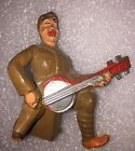MANOIL Lead Toy Soldier Figure PLAYING BANJO M95 Barclay RARE