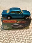 MATCHBOX Lesney Superfast 56/Mercedes Benz 450SEL-BLUE-YELLOW-interior-MINT!!!