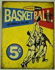 TOPPS 1957 PRO BASKETBALL SPORTS CARD METAL SIGN Ad NBA Poster NEW Vintage Repro