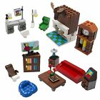 Brick Building Living Room Set for Your Dream House - 14 Build-Your-Own Pieces -