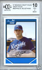 MIKE MOUSTAKAS Royals 2007 Bowman Draft NO NAME Error 1 of 1 rookie BGS BCCG 10