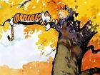 Calvin And Hobbes On The Tree Wall Print POSTER