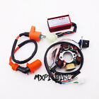 Stator Magneto Racing Ignition Coil CDI Box For GY6 50cc Moped Scooter ATV Quad