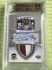 2013-14 THE CUP CROSBY TRIBUTE ROOKIE PATCH AUTO NATHAN MACKINNON 7 10