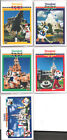 1991 DISNEYLAND UPPER DECK PROMO 5 CARD SET DSINEY MICKEY MOUSE