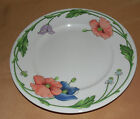 Boch AMAPOLA Blue Purple Flowers SALAD Plate Made In Germany