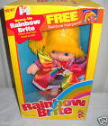 #8590 NIB Vintage Mattel Rainbow Brite - Dress Up Rainbow Brite Doll