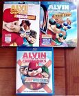 Lot of 3 Alvin and The Chipmunks Blu-rays