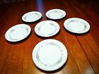 Noritake Cynthia Saucers in Amazing Condition - 6 Saucers Japan 6666 - Floral