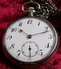 VERY RARE-JUNGHANS OPEN FACE MAN'S POCKET WATCH - GERMANY