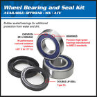 HONDA CX500,GL500,CB550,FCS600 SILVER WING REAR WHEEL BEARINGS & SEALS KIT